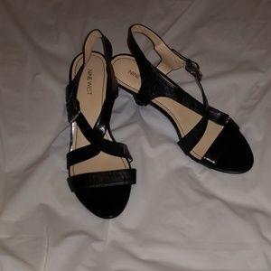 Nine West Cross Top Heels